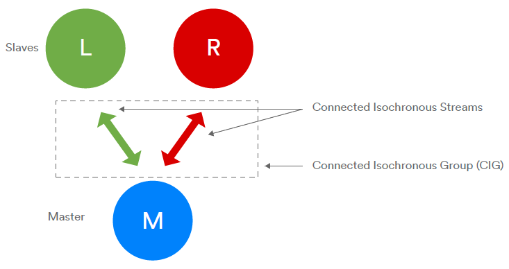Connected Isochronous Streams
